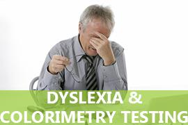 Dyslexia and Colorimetry Testing
