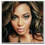 Beyonce Knowles - oval face shape