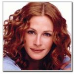 Julia Roberts - oval face shape