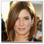 Sandra Bullock - Square face shape
