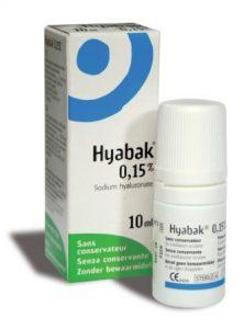 Hyabak - dry eye medication