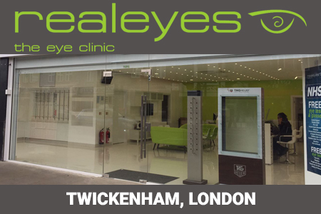 Realeyes Opticians Whitton branch store
