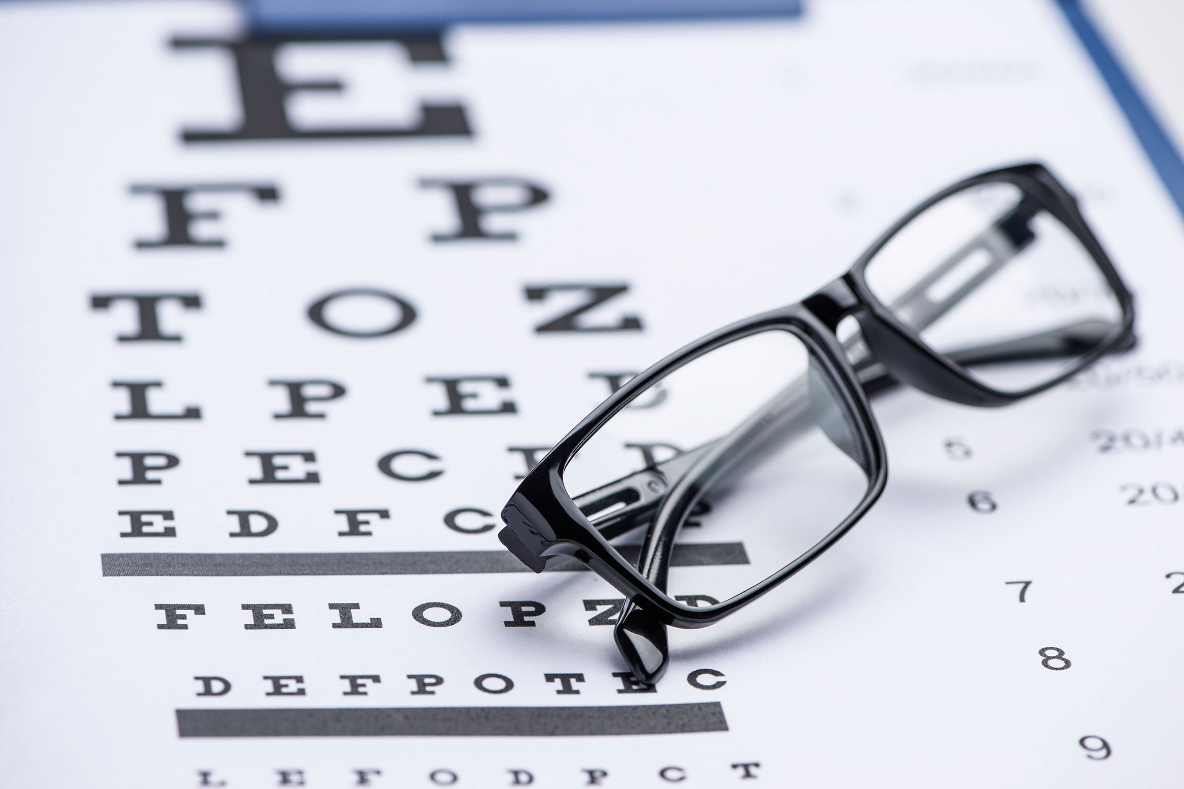Typical Eye Exam