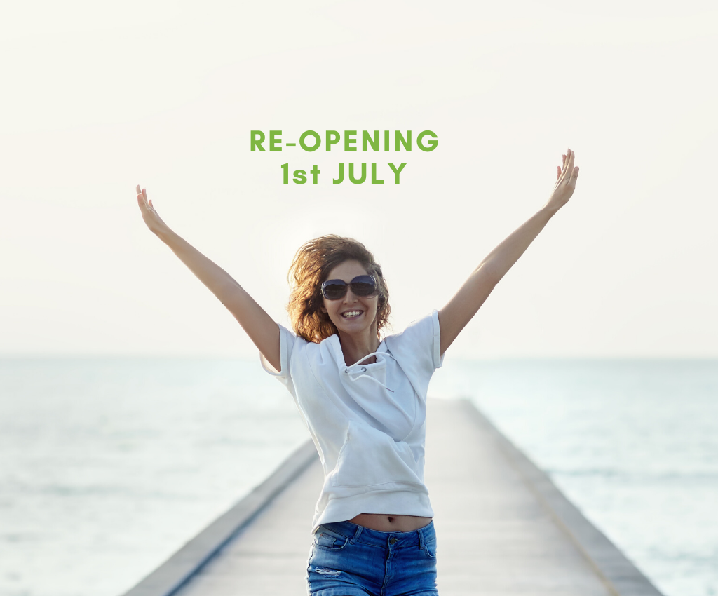 Reopening 1st July
